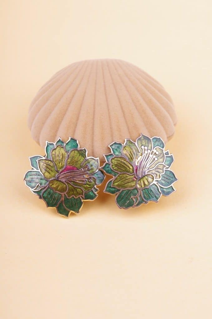 Art Deco Look art deco look flower clips - bobby pin boutique